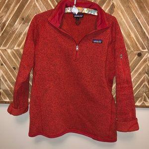 Patagonia Fleece Quarter Zip Sweatshirt
